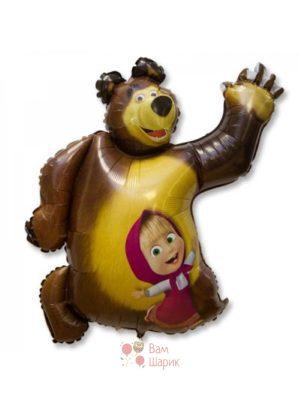 Фольгированная фигура Маша и Медведь