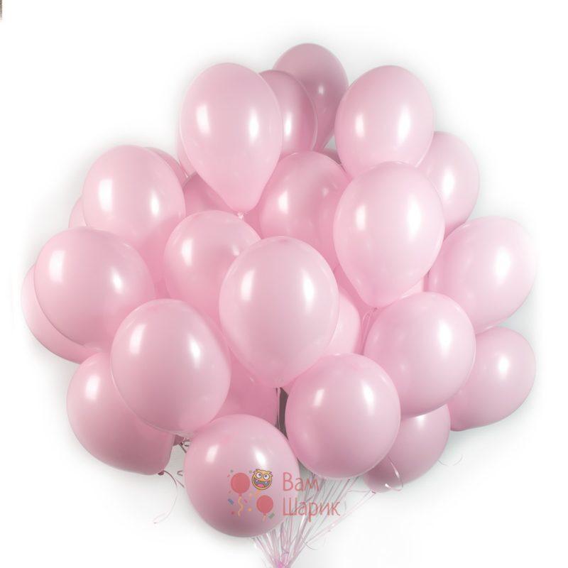 Облако розовых шаров