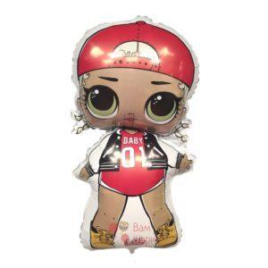 Фольгированная кукла ЛОЛ (LOL), Модная подружка