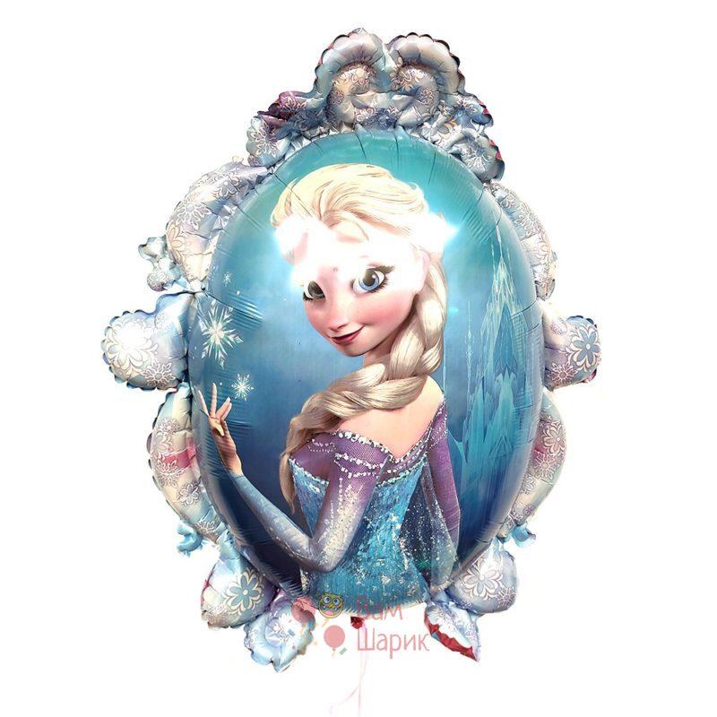 Фольгированный шар Холодное сердце Эльза