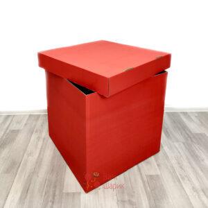 Красная коробка для шаров