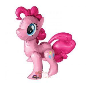 Ходячая фольгированная фигура Розовая Пони
